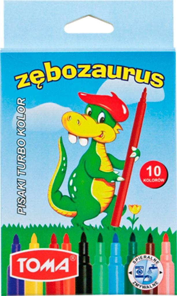 Pisaki zmywalne Zębozaurus