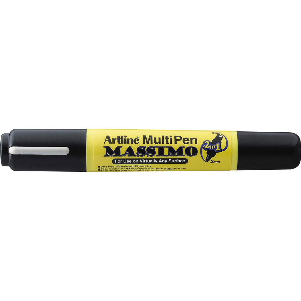 Dwustronny biały marker Artline AR-025