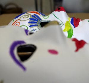 Maski karnawałowe.