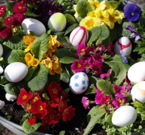 Wielkanocne pisanki, dekoracji ciąg dalszy