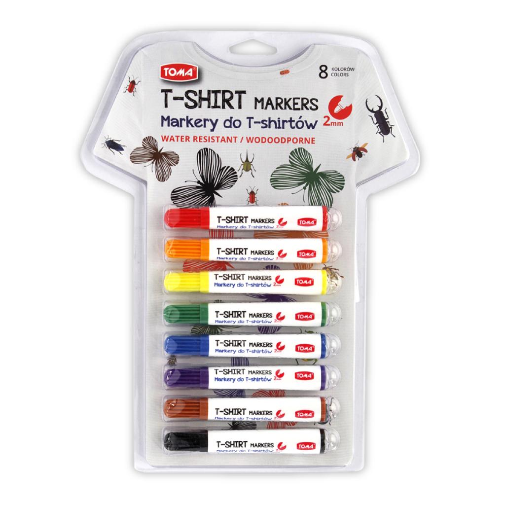 Zestaw markerów do T-Shirtów TOMA TO-745