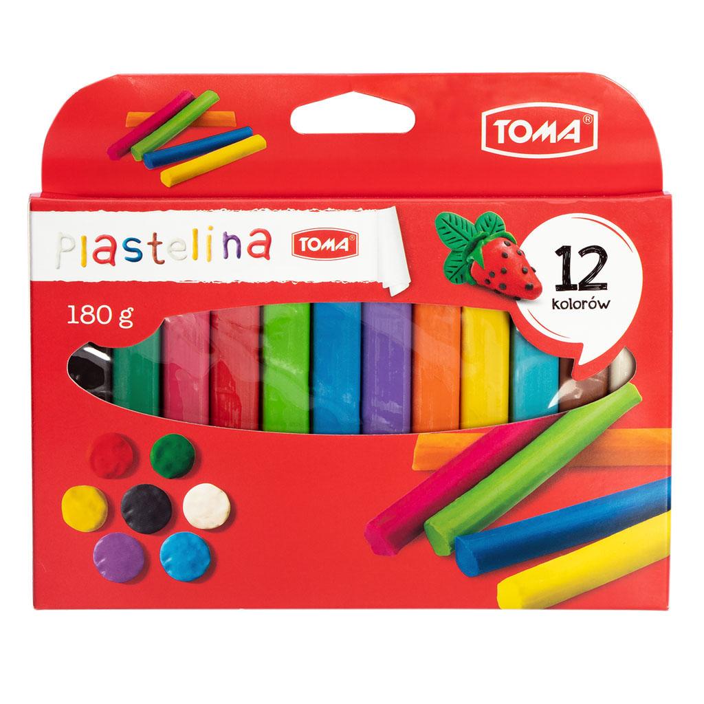 Plastelina szkolna TOMA TO-710