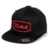 TOMA_czapka_czerwone logo ww