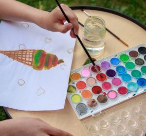 Letnie malowanie